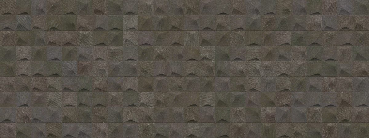 Porcelanosa Cubik Urban Black Nature Tile 45 x 120 cm