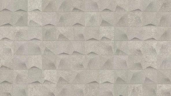 Porcelanosa Cubik Urban Acero Nature Tile 33.3 x 59.2 cm