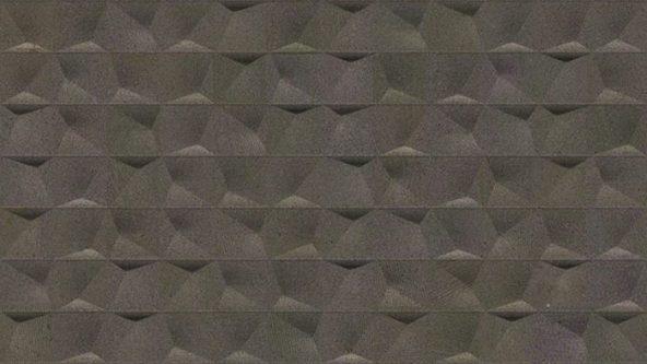 Porcelanosa Cubik Urban Black Nature Tile 33.3 x 59.2 cm