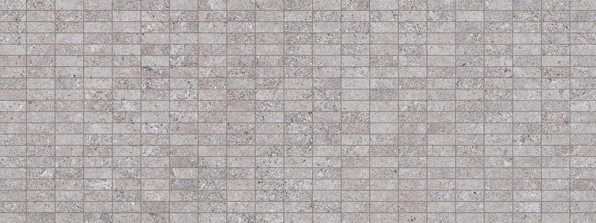 Porcelanosa Mosaico Mosa-River Acero Tile 45 x 120 cm