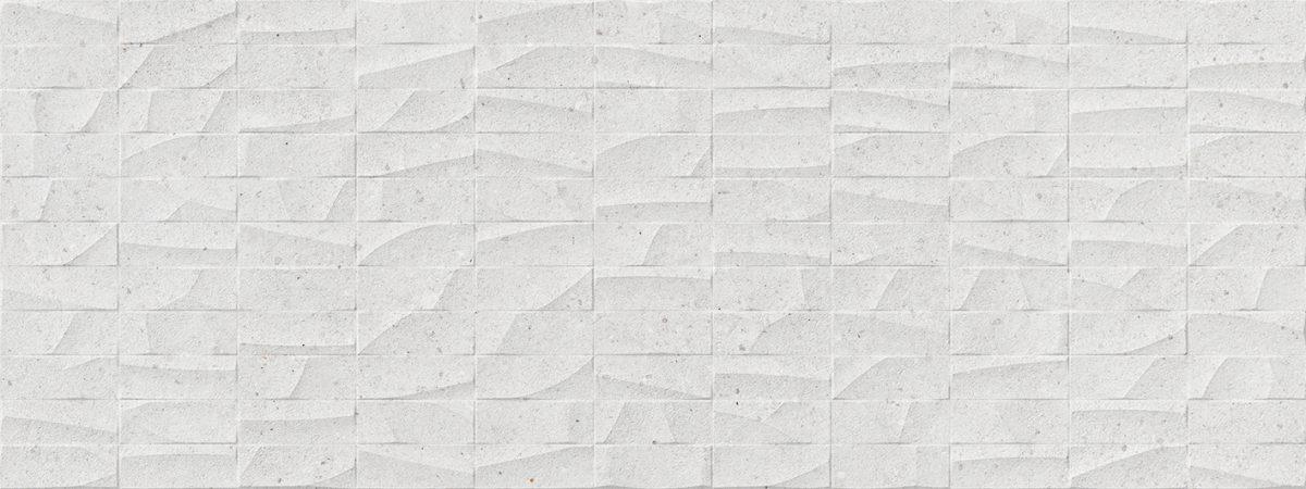 Porcelanosa Mosaico Prada White Tile 45 x 120 cm