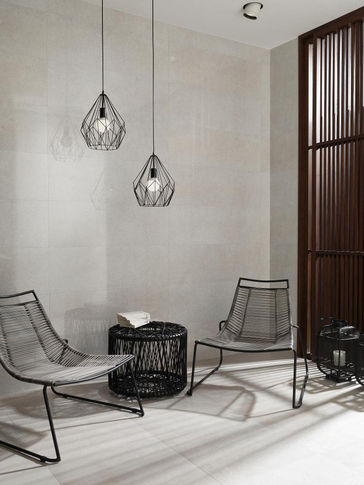 Porcelanosa Concept Gris Bright Installation Photo