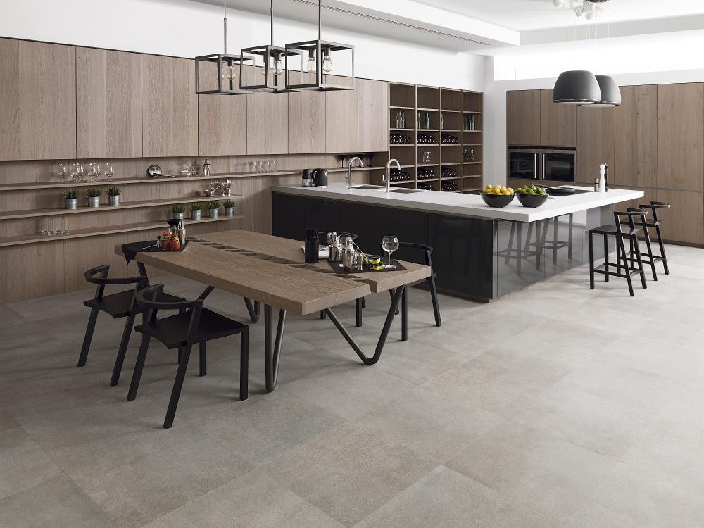 Porcelanosa Concept Natural Floor Installation Photo