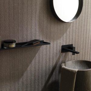Porcelanosa Spiga Noir Topo 45 x 120 cm