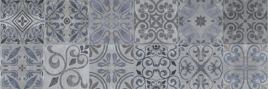 Porcelanosa Antique Blue 31.6 x 90 cm