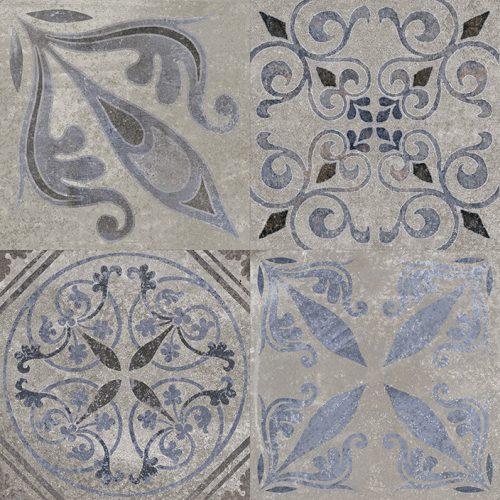 Porcelanosa Antique Silver 59.6 x 59.6 cm