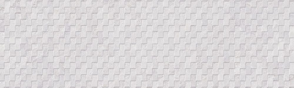 Porcelanosa Deco Mirage White 33.3 x 100 cm