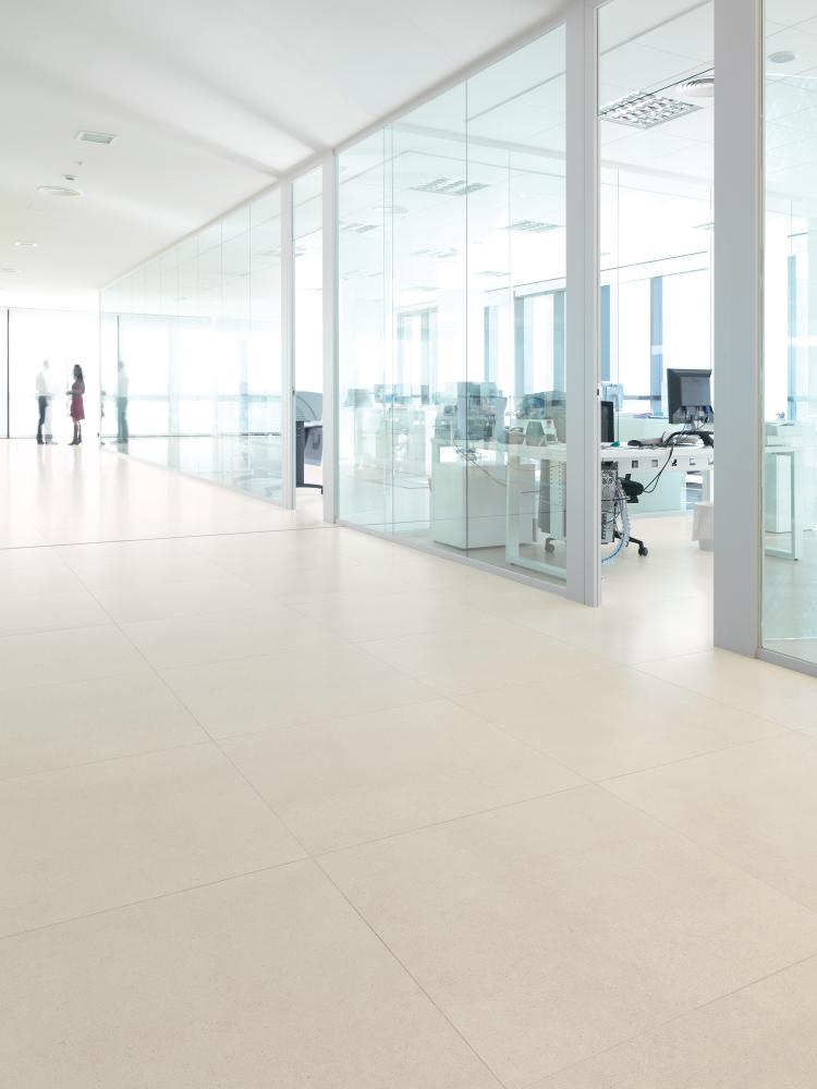 Porcelanosa Ceilan Floor Tile Installation Image