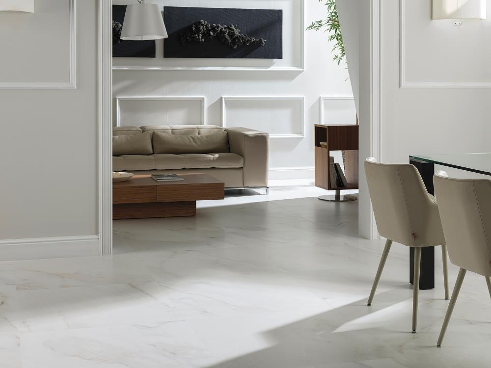 Porcelanosa Egeo Blanco Tile Installation Image