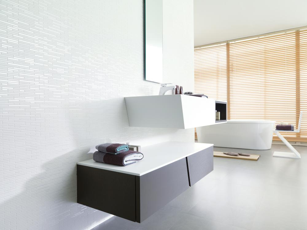 Porcelanosa Manhattan Blanco Installation Image