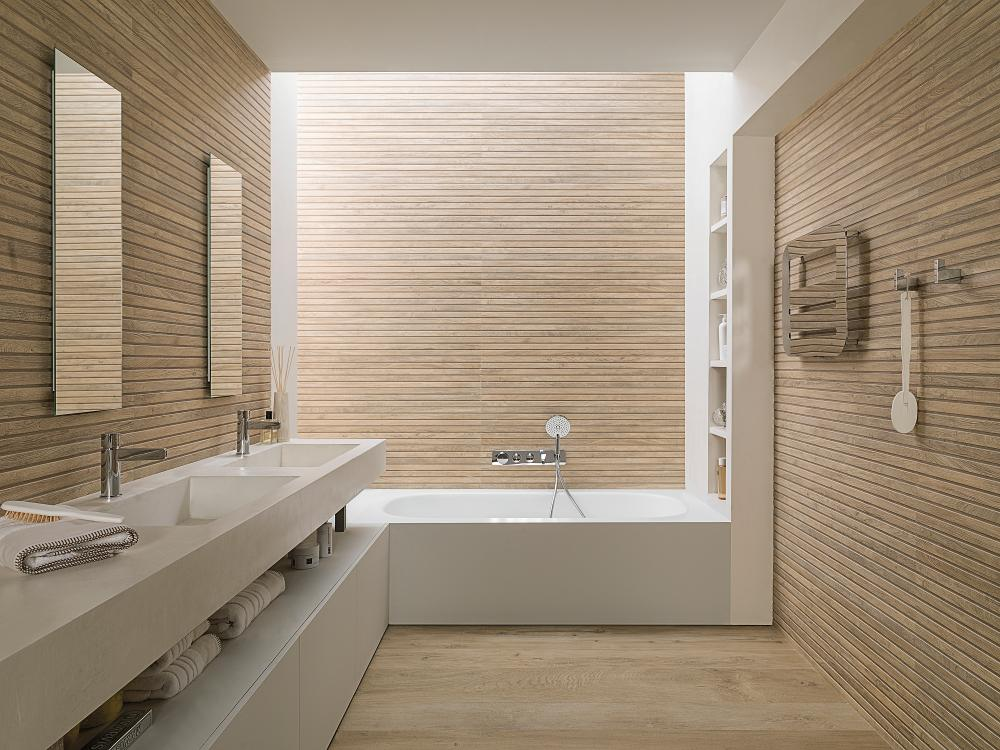 Porcelanosa Manhattan Maple Installation Image