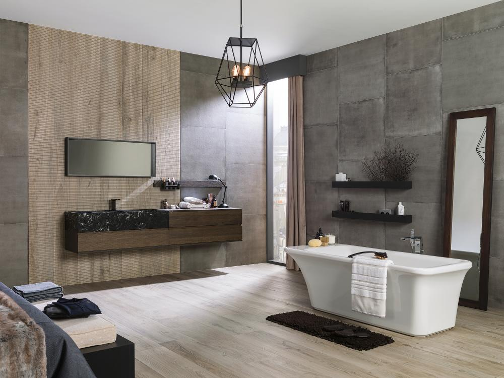 Porcelanosa Manhattan Natural Installation Image