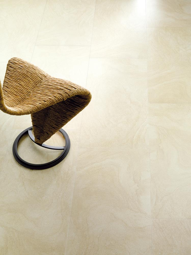 Porcelanosa Sand Stone Beige 45 x 90 Installation Image