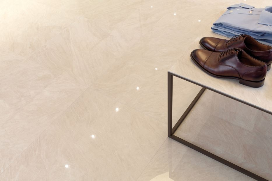 Porcelanosa Soul Sand Installation Photo