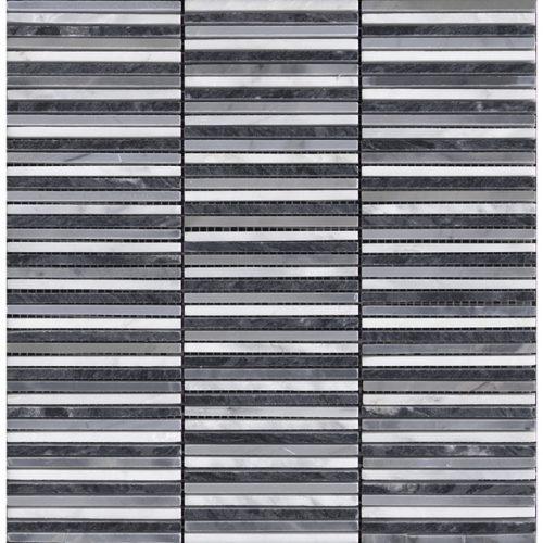 Porcelanosa Aichi Greys Mosaic Tile 29.8 x 305. cm