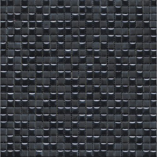 Porcelanosa Air Black Mosaic Wall Tile 30 x 30