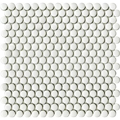 Porcelanosa Air Dots White Mosaic Wall Tile 31 x 32.4 cm