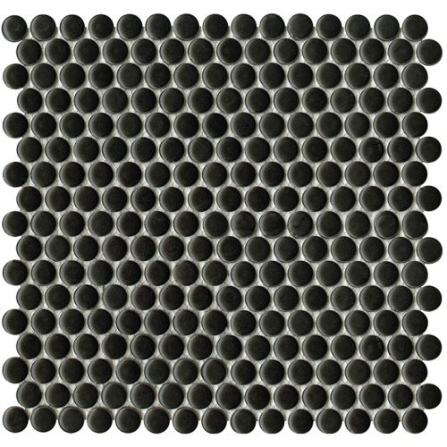 Porcelanosa Air Dots Black Matt Mosaic 31 x 32.4 cm