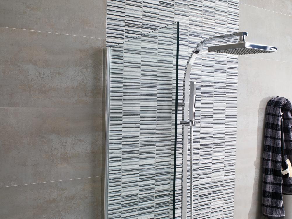 Porcelanosa Aichi Greys 29.8 x 30.5 Ruggine 33.3 x 100