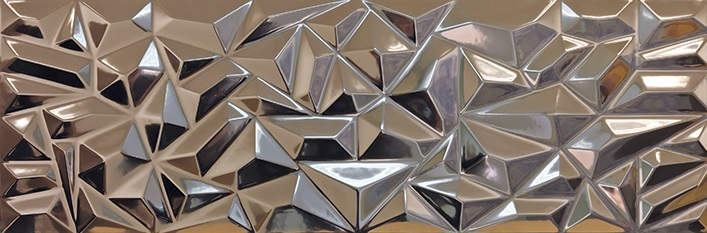 Porcelanosa Prisma Bronze Tile 33.3 x 100