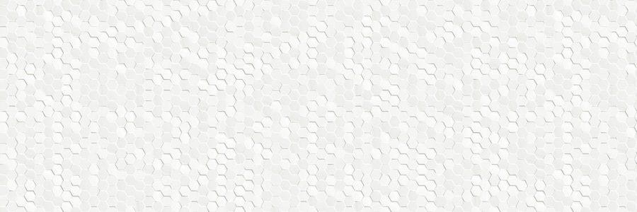 Porcelanosa Dubai White Tile 33.3 x 100 cm