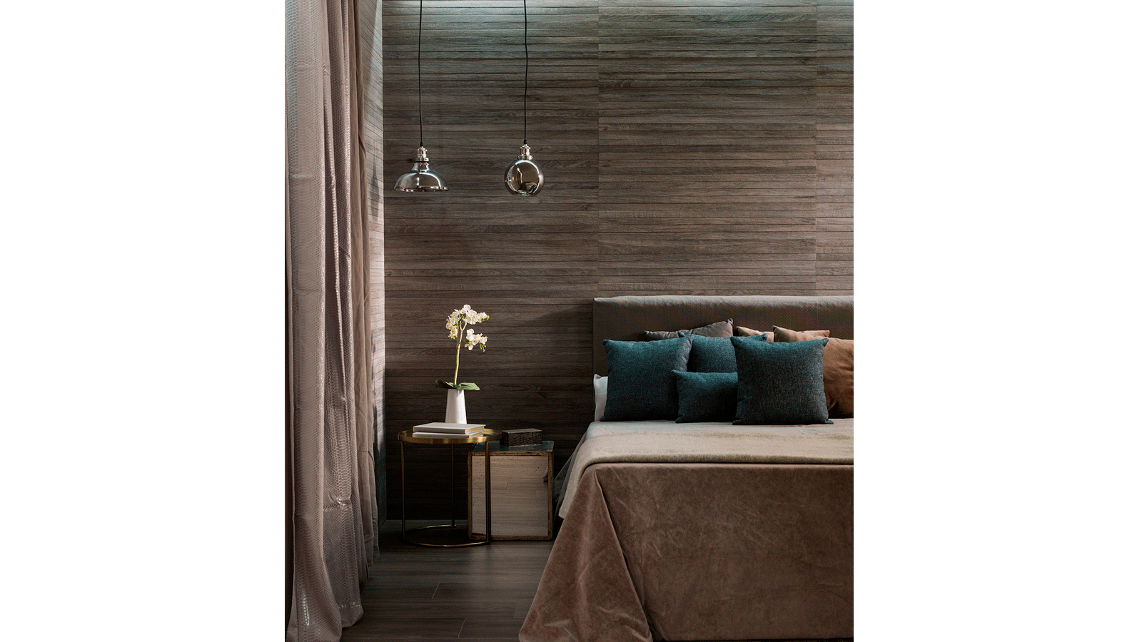 Porcelanosa Loweer Tanzania Walnut Tile 33 3 x 100 cm | MP