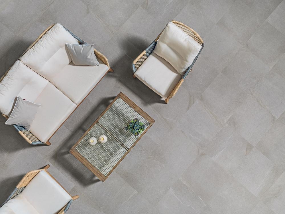 Porcelanosa Dayton Ash Tile 59.6 x 59.6 cm