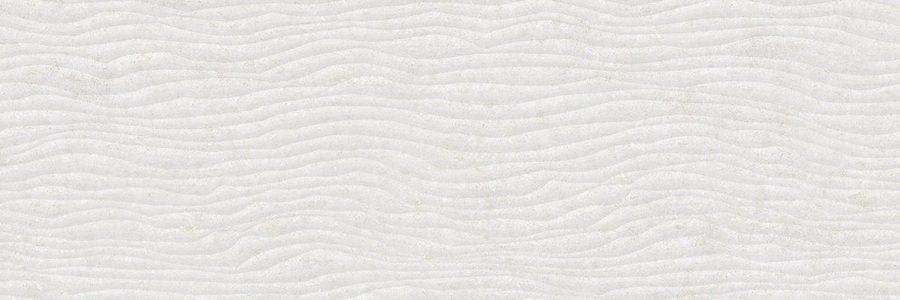 Porcelanosa Park White Tile 33.3 x 100 cm