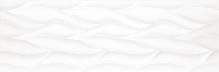 Porcelanosa Ona White Matt Tile 33.3 x 100 cm