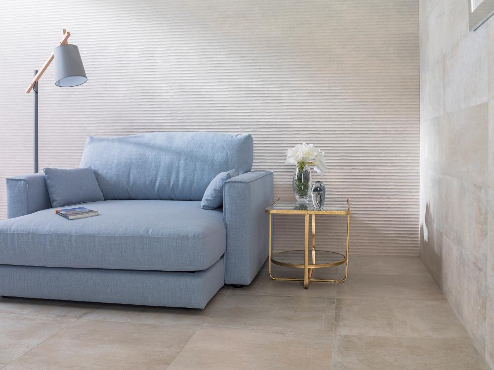 Porcelanosa Newport Natural 59.6 x 59.6 cm, Old Natural 33.3 x 100 cm, Newport Natural 33.3 x 100 cm
