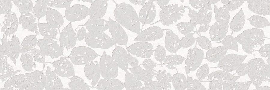 Porcelanosa Menorca Hojas Gris Tile 31.6 x 90 cm