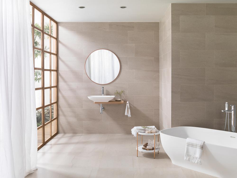Porcelanosa Krono Clay Nature 29.7 x 59.6 cm, Krono Clay Nature 59.6 x 59.6 cm 2