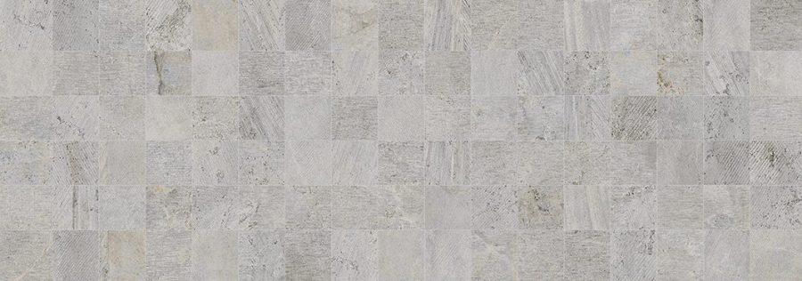 Porcelanosa Mosaico Rodano Acero Tile 31.6 x 90 cm