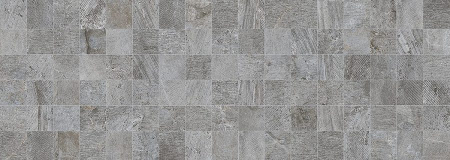 Porcelanosa Mosaico Rodano Silver Tile 31.6 x 90 cm