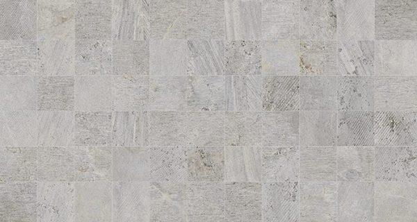 Porcelanosa Mosaico Rodano Acero Tile 31.6 x 59.2 cm