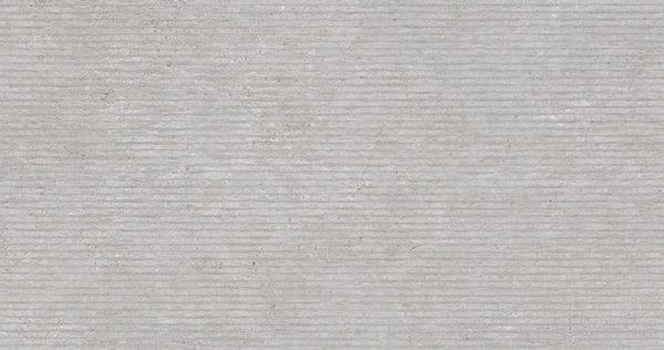 Porcelanosa Rodano Lineal Acero Tile 31.6 x 59.2 cm