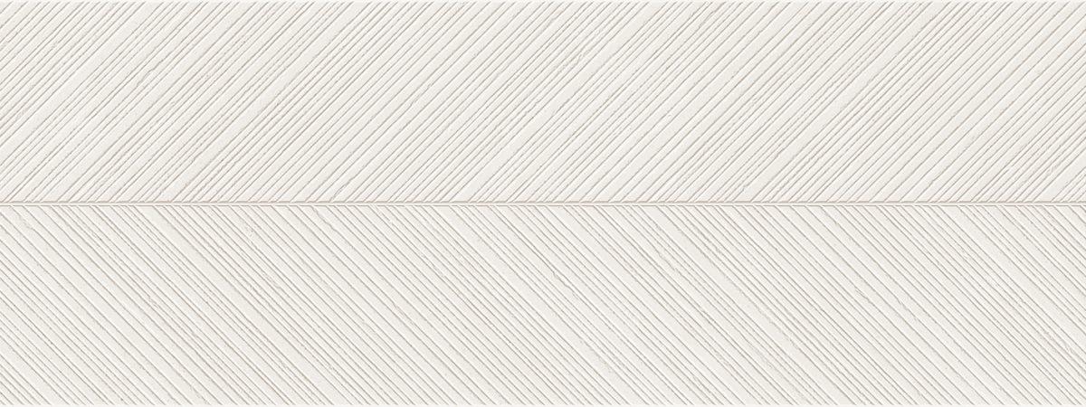Porcelanosa Spiga Bottega White Tile 45 x 120 cm