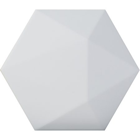 Porcelanosa Faces H4 Blanco Tile 12.9 x 14.9 cm