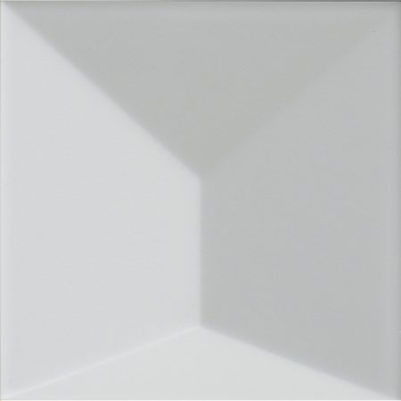 Porcelanosa Faces S3 Blanco Tile 12.5 x 12.5 cm