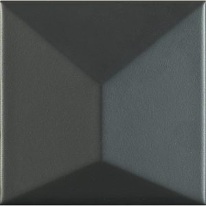 Porcelanosa Faces S3 Negro Tile 12.5 x 12.5 cm
