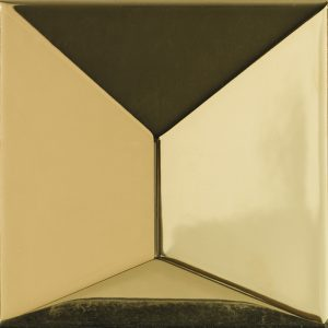 Porcelanosa Faces S3 Oro Tile 12.5 x 12.5 cm
