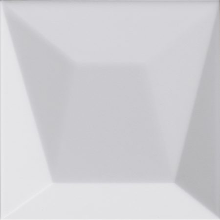 Porcelanosa Faces S4 Blanco Tile 12.5 x 12.5 cm