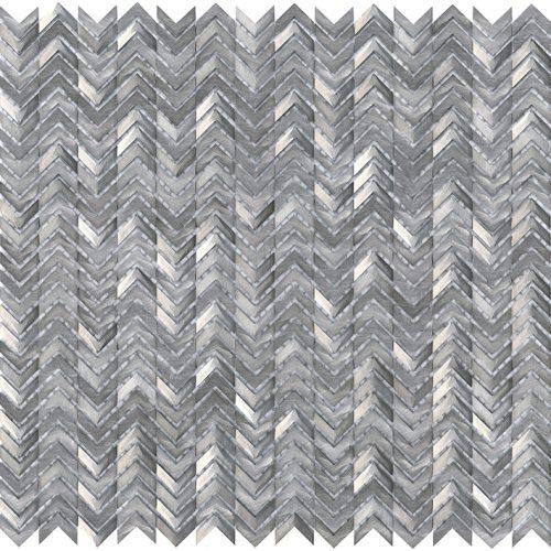 Porcelanosa Gravity Aluminium Arrow Metal Tile