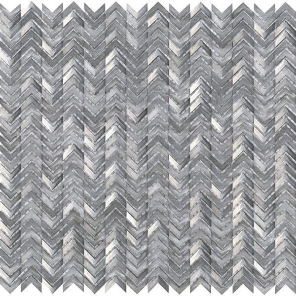 Porcelanosa Gravity Aluminium Arrow Metal Tile