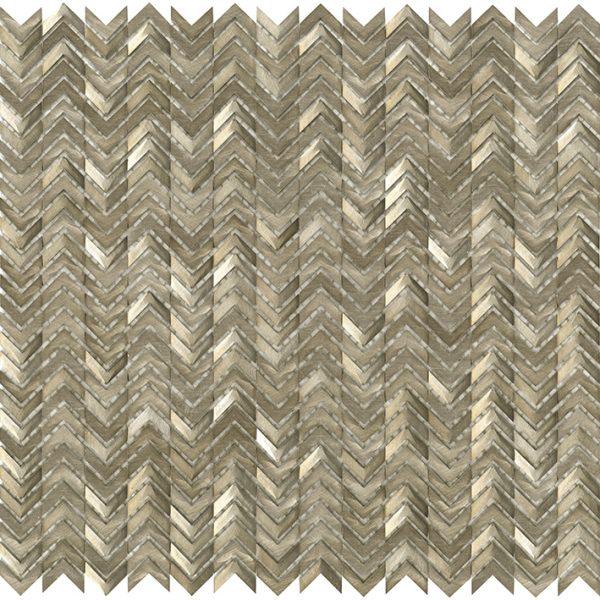 Porcelanosa Gravity Aluminium Arrow Gold Tile