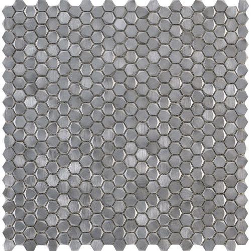 Porcelanosa Gravity Aluminium Hexagon Metal Tile