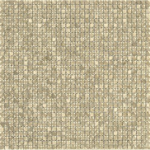 Porcelanosa Gravity Aluminium Cubic Gold Tile