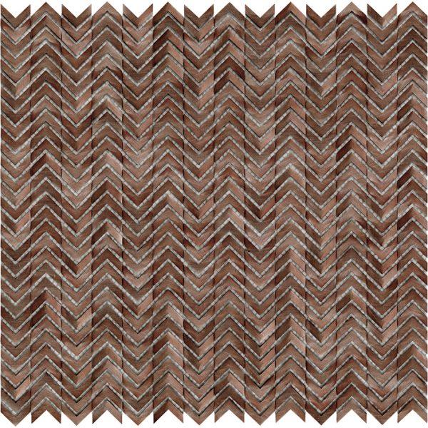 Porcelanosa Gravity Aluminium Arrow Copper Tile
