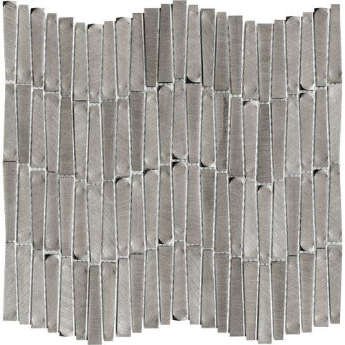 Porcelanosa Gravity Aluminium Wave Metal Tile