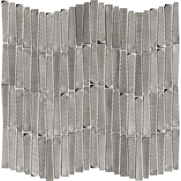 Porcelanosa Gravity Aluminium Wave Metal Tile